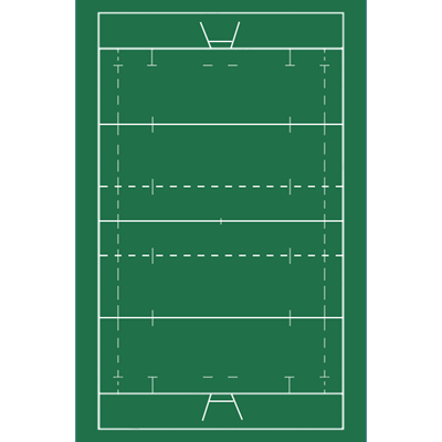 CLUB 160 Rugby Tactic Coaching Board Table