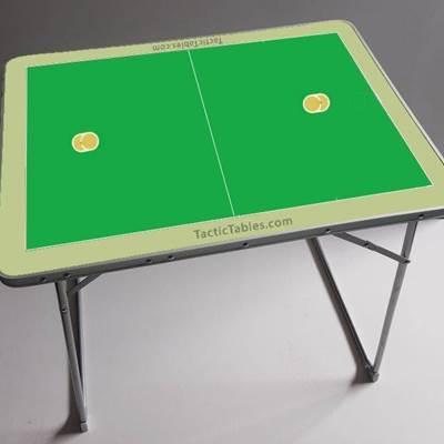 Groot Coachbord tafel Korfbal 80 x 60 x 70 cm