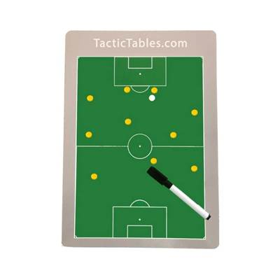 Handig A4 formaat Voetbal coachbord