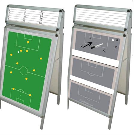 Magnetic Flip Chart Tactical Coachboard