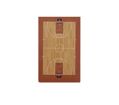 Large Coaching board tactics table Basketball 80 x 60 x 70 c