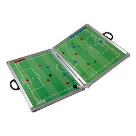 Large Foldable Magnetic Tactic Coaching Board Football
