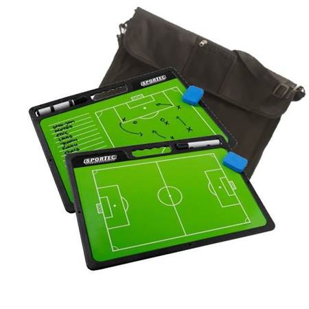 Sportec Coachbord Football with handle