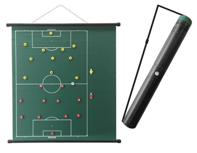 "Sportec Tactics Board Rollable 37"" x 41"" Football"