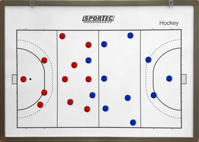 Large Magnetic Coachboard Hockey