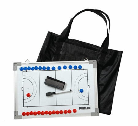 "Malik Magnetic Tactics Coachboard Hockey 12"" x 18"""